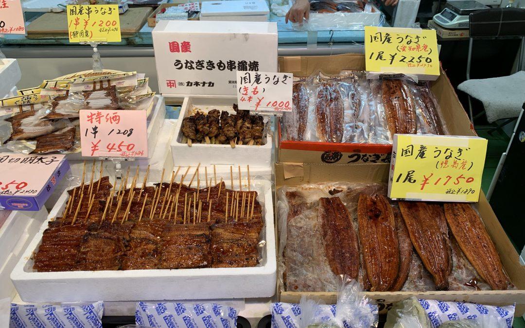7月24日の築地魚河岸 店頭レポート